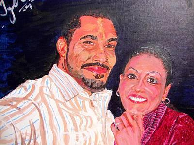 Engaged Print by Narayan Iyer