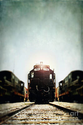 Train Photograph - Engine795 by Stephanie Frey