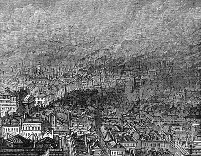 England: Manchester, 1876 Print by Granger