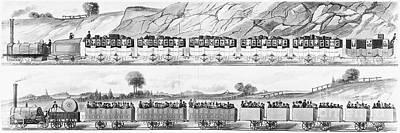 England: Railroad Travel Print by Granger