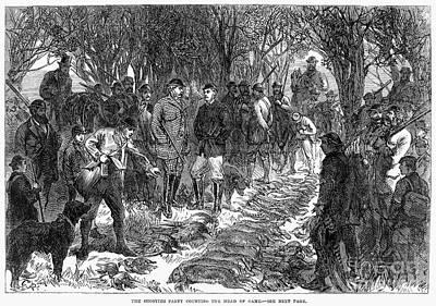 England: Royal Hunt, 1865 Print by Granger
