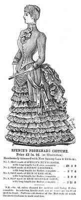 English Fashion, 1884 Print by Granger