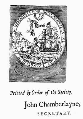English Missionaries, 1704 Print by Granger