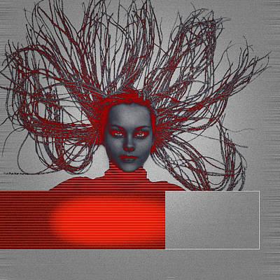 Meditation Digital Art - Enlightnment by Naxart Studio