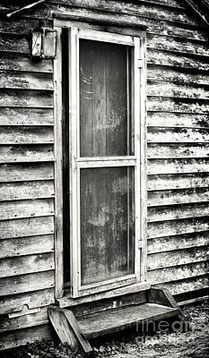 Enter Through The Back Door Print by John Rizzuto