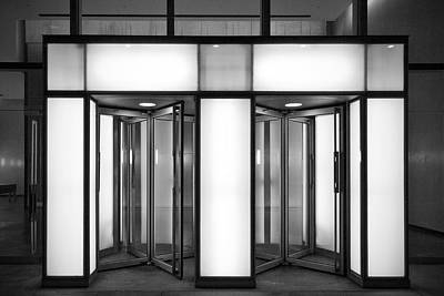 Wolkenkratzer Photograph - Entrance by Thomas Splietker