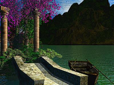 Bush Digital Art - Entrance To Escape by Lourry Legarde
