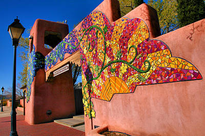 Southwest Gate Photograph - Entrance To Old Town Plaza I by Steven Ainsworth