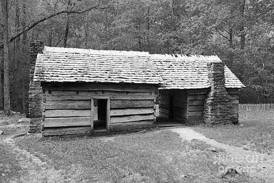 Dog Trots Photograph - Ephraim Bales Cabin II by Gary L Suddath