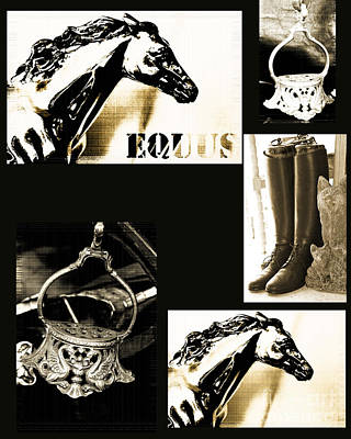 Teen Licensing Mixed Media - Equestrian Licensing Art by Anahi DeCanio