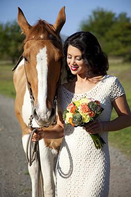 Equestrian Fashion Photograph - Equine Companion by Sri Maiava Rusden