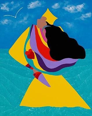 Erzulie Haitian Goddess Of Love Original by Synthia SAINT JAMES