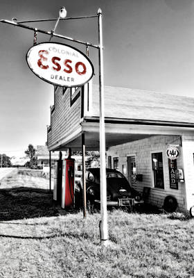Esso Photograph - Esso Express by Chad Tracy