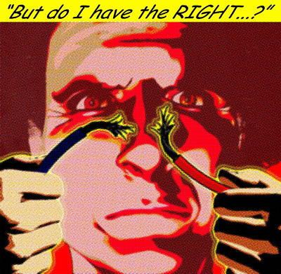 Ethical Dilemma Print by Christian Darkin