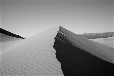 Eureka Dunes, Death Valley National Park Print by Gary Koutsoubis
