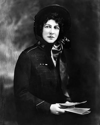 Evangeline Photograph - Evangeline Booth 1865-1950, General by Everett