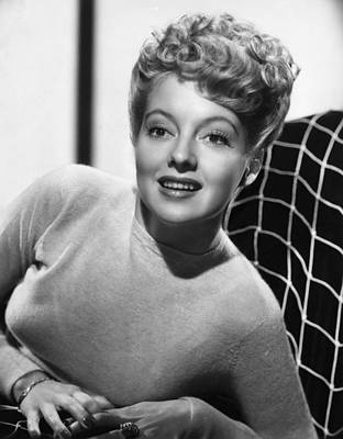 Evelyn Keyes, 1946 Print by Everett