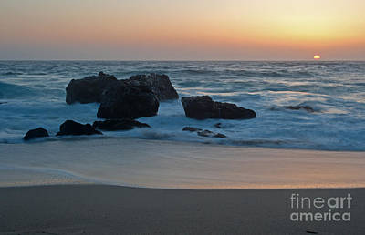 Evening At Beach 4 Original by Catherine Lau
