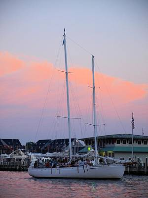 Photograph - Evening Cruise by