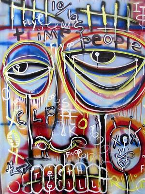 Everyone Wants To Change The World Print by Robert Wolverton Jr