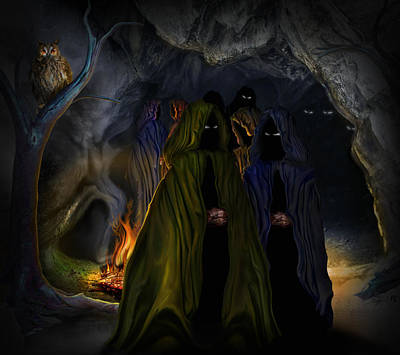 Evil Speaking Original by Alessandro Della Pietra
