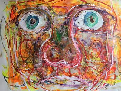 Exhibit Shocked Print by Shadrach Ensor