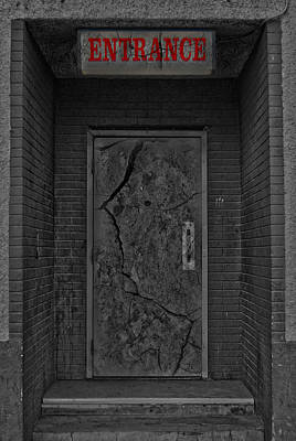 Exit Print by JC Photography and Art