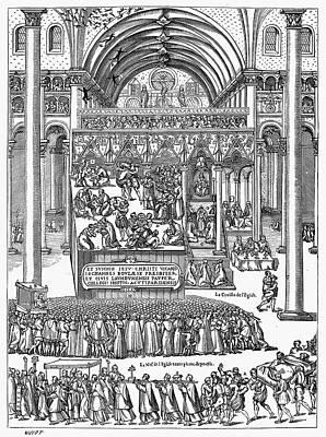 Exorcism, 1566 Print by Granger