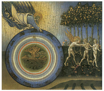 Expulsion From Paradise Print by Giovanni Di Paolo