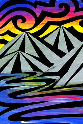 Extreme Alps Print by Roseanne Jones