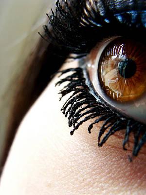 Eye 01 Print by Kalie Hoodhood