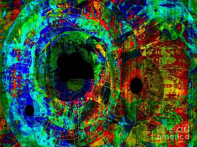Yesayah Mixed Media - Eye Colorblind by Fania Simon