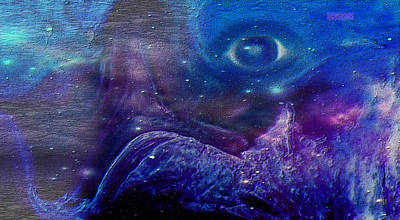 Universe Painting - Eye Of The Universe by Sherri  Of Palm Springs
