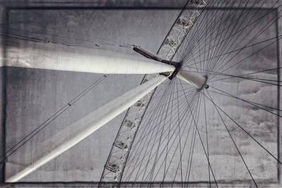 London Eye Photograph - Eye On London by Joan Carroll