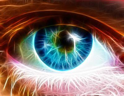 Eye Print by Paul Van Scott