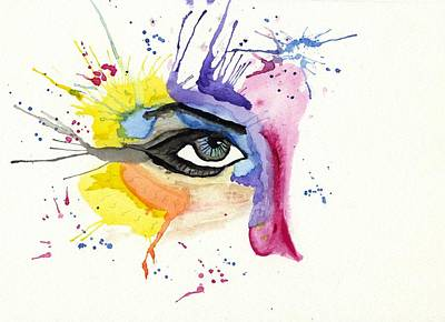 eye Print by Tom Evans
