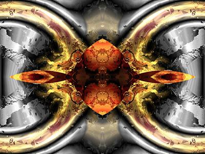 Algorithmic Digital Art - Faa Abstract 1 by Claude McCoy