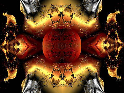 Faa Abstract 4 Print by Claude McCoy
