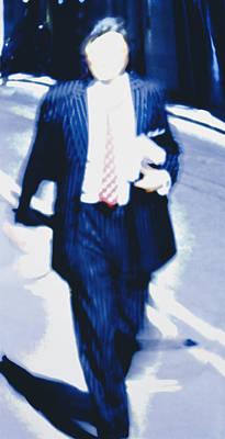 Accountability Photograph - Faceless Businessman by Carlos Dominguez