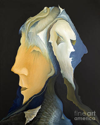Curvilinear Painting - Facets by Joanna Pregon