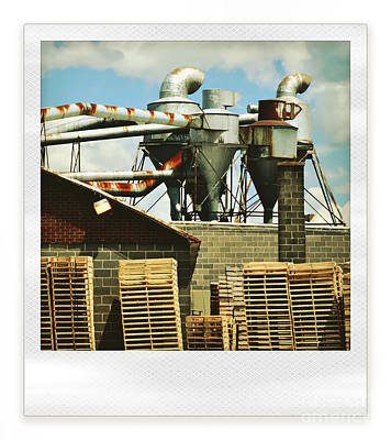 Pallet Photograph - Factory by HD Connelly