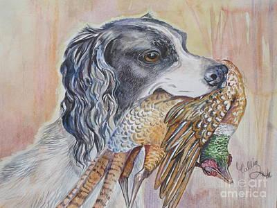 Cocker Spaniel Painting - Fair Game by Callie Smith
