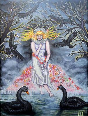 Fair Maiden Print by Amiee Johnson