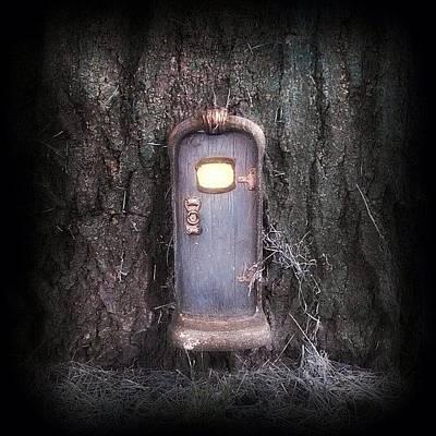 Fairy Photograph - Fairy Door by September  Stone