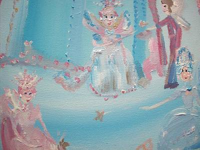 Fairy Godmother Convention Print by Judith Desrosiers