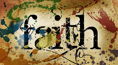 Faith Print by Lauren Goia