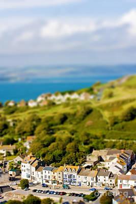 Miniature Effect Photograph - Fake Toy Village View by Simon Bratt Photography LRPS