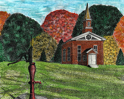 Fall Is Coming Print by Mike OBrien