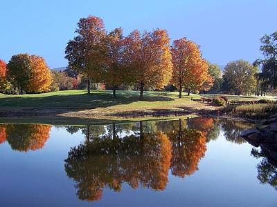 Photograph - Fall Reflections Iv by Frank LaFerriere