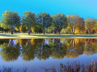 Photograph - Fall Reflections Vii by Frank LaFerriere